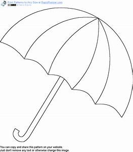 free umbrella pattern get it and more free designs at With printable umbrella template for preschool
