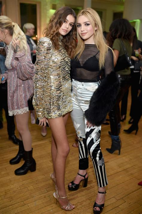 peyton roi list  marc jacobs beauty celebrates kaia