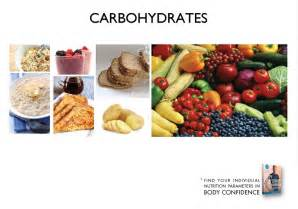 Carbohydrates Food Examples