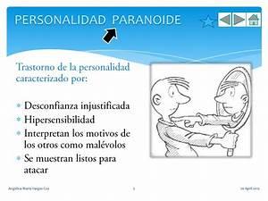 Personalidad esquizoide y paranoide