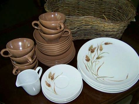 wheat dishes texas ware wheat pattern dishes
