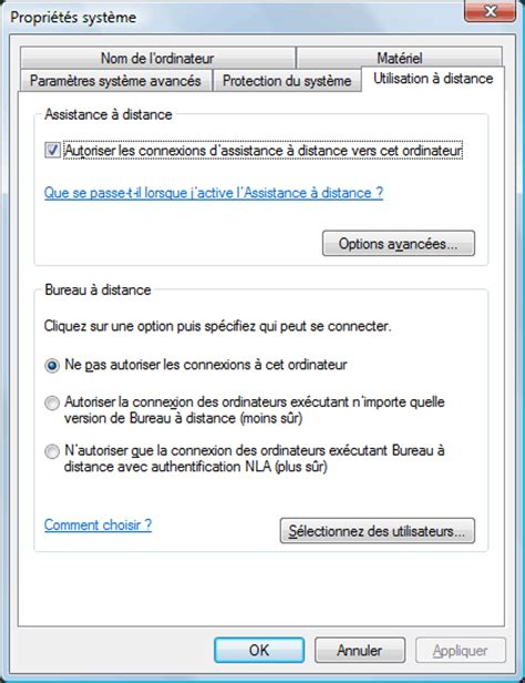 bureau a distance windows xp philten com accéder à un pc windows à distance par
