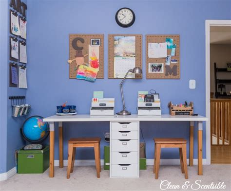 homework desk for bedroom kids homework station clean and scentsible