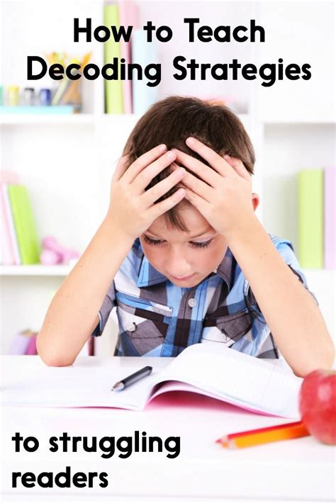 How To Teach Decoding Strategies To Struggling Readers  Decoding Strategies, Effective Teaching