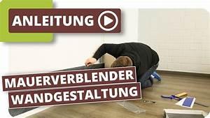 Vinyl Fliesen Bad Wand : planeo mauerverblender wandverkleidungen wandbel ge badezimmer w nde erneuern youtube ~ A.2002-acura-tl-radio.info Haus und Dekorationen