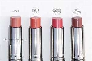 MAC Huggable Lip Colour: Touché, Fresh & Frisky, Out for ...