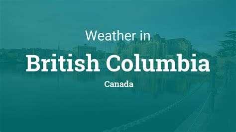 weather  british columbia canada