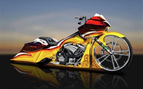 Harley Davidson Road Glide Hd Photo by Harley Davidson Road Glide Custom Bagger Motorcycle