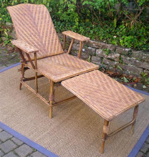 chaise longue rotin chaise longue en bois geekizer com