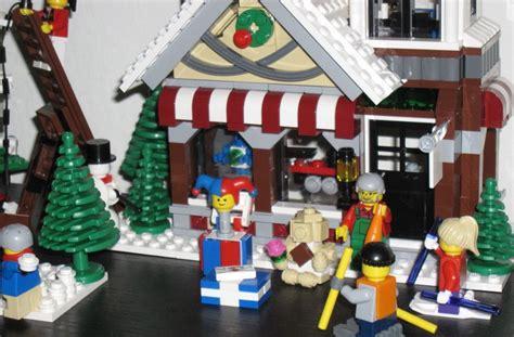 Winter Village Toy Shop