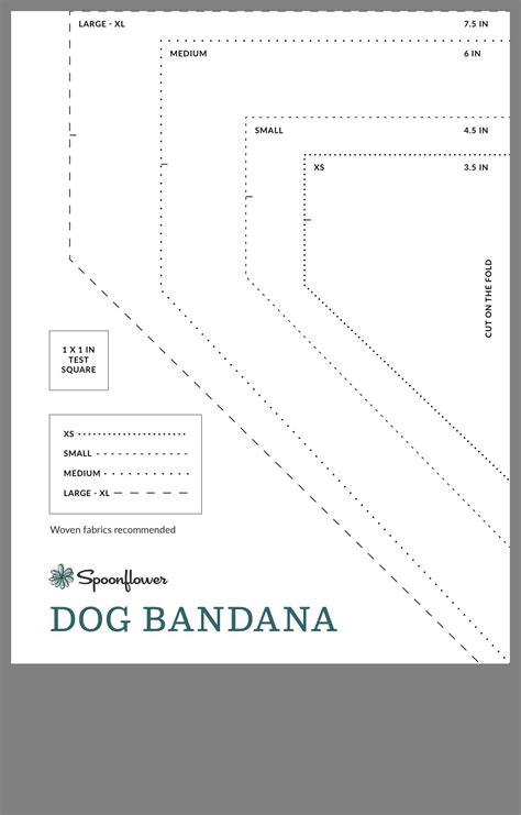 pin  audrey fries  dog dog bandana pattern dog