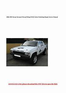 1986 1995 Nissan Terrano I Nissan Pickup Wd21 Series