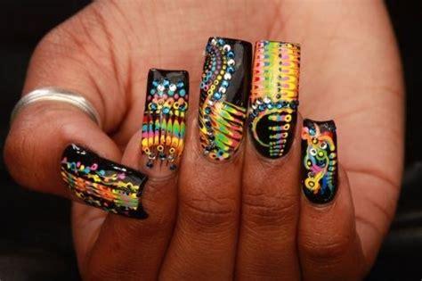 day  abstract nail art nails magazine