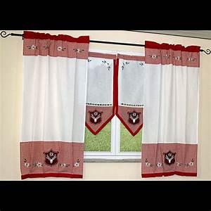 Vorhänge Rot Weiß : landhaus style scheibengardinen vorh nge gardinen kissen ~ Orissabook.com Haus und Dekorationen