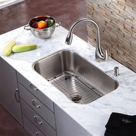 replacing undermount kitchen sink one kitchen sink with two faucets 4768