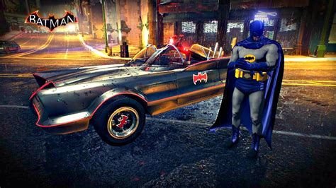 batman arkham knight  batmobile  roam gameplay