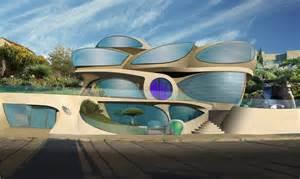 mobile homes interior futuristic house by architect ephraim henry pavie