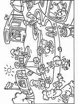 Kleurplaten Kleurplaat Camping Kinderen Voor Zwembad Met Heerlijk Een Zomer Malvorlagen Vakantie Coloring Camper Glijbaan Summer Coloriage Piscine Ausmalbilder Sequencing sketch template