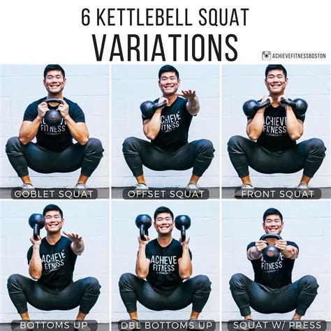 kettlebell squat variations site bottoms six press squats swings