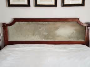 luxury wood and velvet super king size headboard 163 45 00
