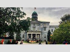McGill University Ranked