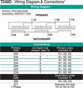 112 5 Kva Transformer Primary 240 Secondary 480y  277