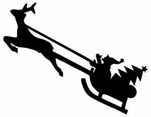 Onlinelabels Clip Art Christmas Reindeer Silhouette
