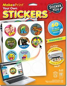 being frugal and making it work print your own stickers With how to print stickers at home