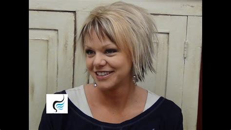 (short Hairstyles) With Slight Flip Hair