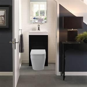 Lavabo Pour Toilette : meuble toilette 50 suggestions de design moderne ~ Edinachiropracticcenter.com Idées de Décoration