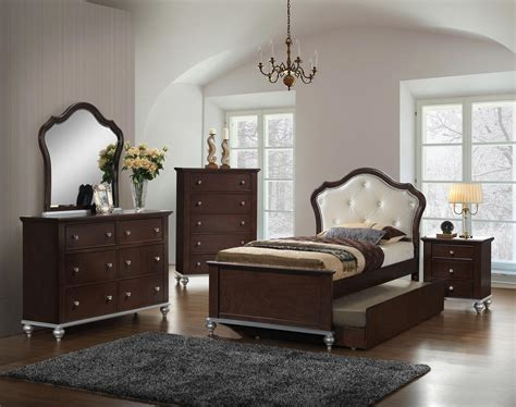 allison youth  piece twin  full bedroom set gonzalez