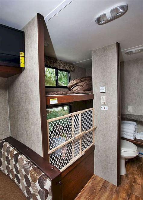 rv camper bathroom storage ideas trailer camping hacks