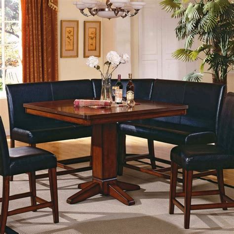 corner nook dining table dining table corner nook dining table set