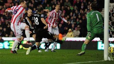 Stoke 1-0 Fulham - BBC Sport