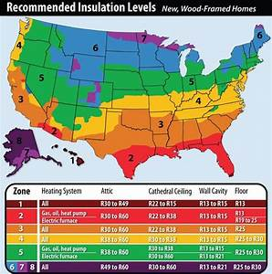 Recommended Home Insulation R U2013 Values