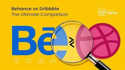 Behance Dribbble Comparison Ultimate Graphicmama