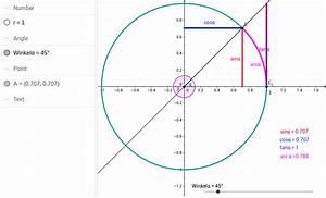 Sin Cos Tan Winkel Berechnen : einheitskreis f r winkel zwischen o und 360 geogebra ~ Themetempest.com Abrechnung