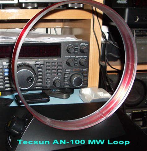vr2xmq steve s af through shf tecsun an 100 mw tunable loop antenna
