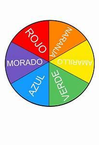 una ruleta de colores