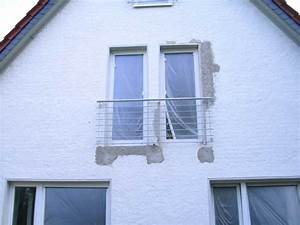 Franzosischer balkon aus stahl feuerverzinkt preis per for Französischer balkon mit gartenzaun pfosten beton