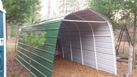 steel siding  shelter logic storage shed replaced