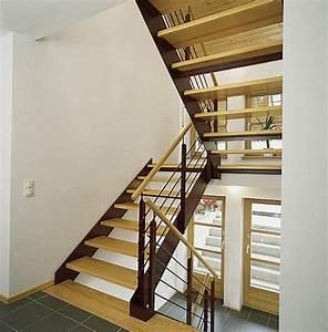 Stahltreppe Mit Holzstufen : wangentreppen von stadler treppen gmbh f r den innenbereich ~ Michelbontemps.com Haus und Dekorationen
