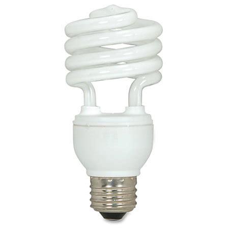 satco spiral t2 fluorescent light bulbs 18 watt box of 3
