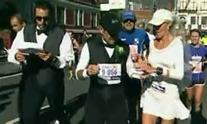 New York City Marathon Wedding