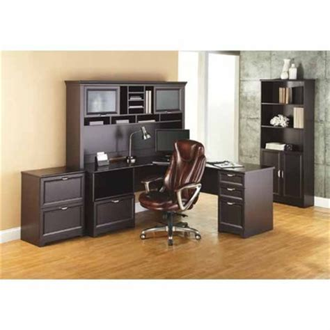 office max desk with hutch officemax deal realspace magellan performance â œlâ