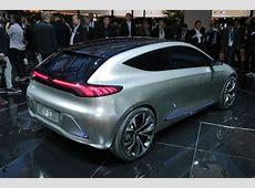 MercedesBenz unveils electric EQA hatchback concept Autocar