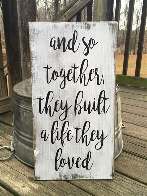 super romantic wooden signs  valentines day home