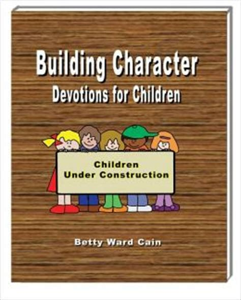 building character devotions for children by betty ward 279 | 2940014009102 p0 v1 s260x420