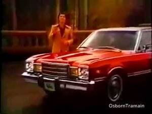 1976 Plymouth Volare Sedan Commercial With Sergio Franchi