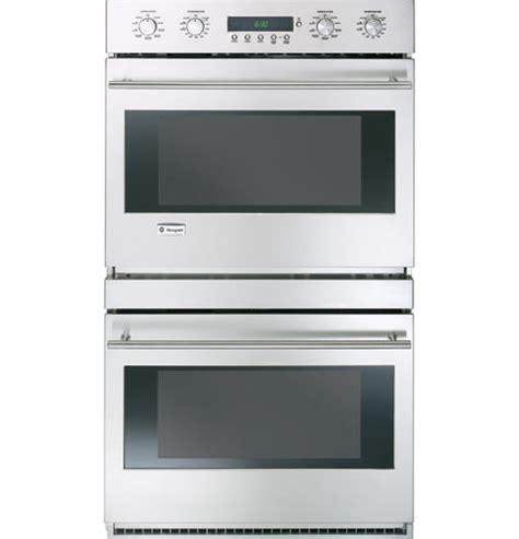 zetslss ge monogram  built  electronic convection double wall oven monogram appliances